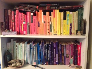 rainbow shelfie